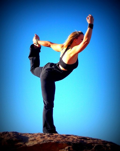 Balance is a very important facet of yoga poses; think about the Warrior, Triangle or the Tree Pose.