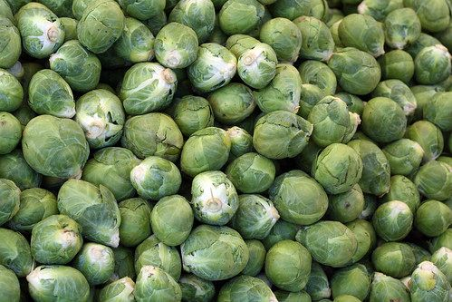 Vegetables like Brussel sprouts, are in a family known as cruciferous vegetables. These vegetables are loaded with healthy antioxidants that have been shown to lower risk of cancer in those who eat this kind of vegetable regularly.