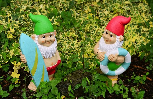 The Most Popular Kind Of Garden Decoration Will Have To Be These Adorable Tiny Garden Gnomes.