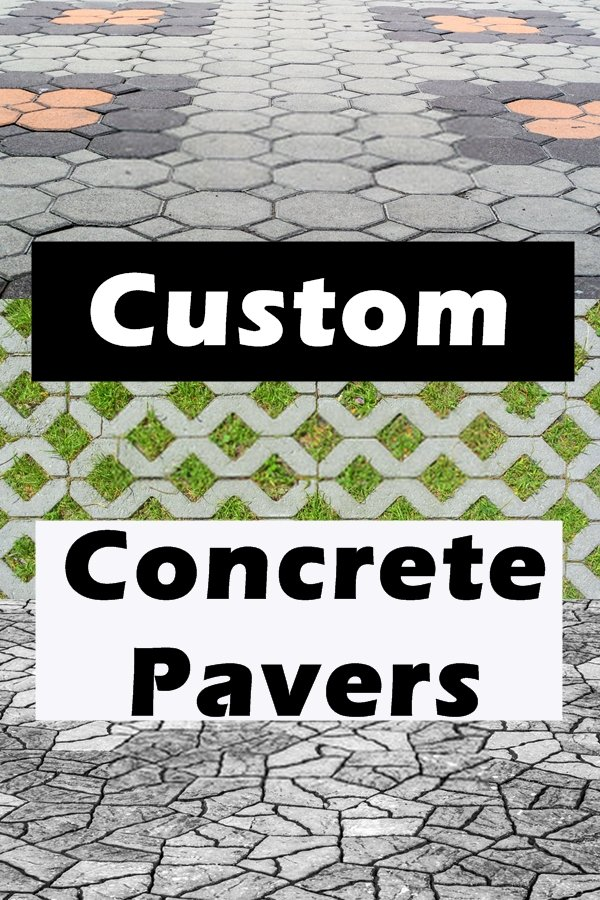 There Are Dozens Of Molds You Can Buy To Shape Your Own Concrete Pavers. You Can Make Hearts, Flowers, Suns, Moons, Birds, Ships, And Other Shapes.