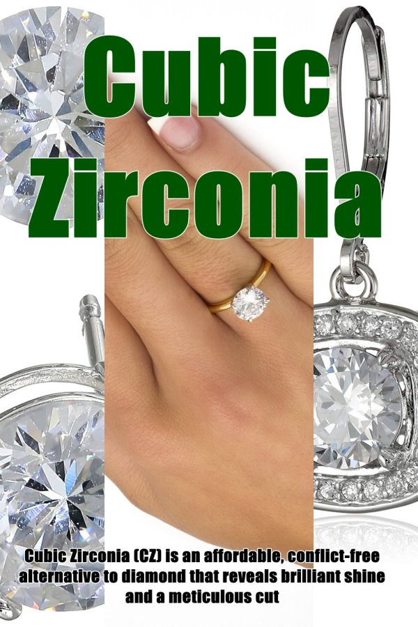 Great Looks Don't Come Cheap. Most Of The Time, That Is. When It Comes Cubic Zirconia, You Get Classy Sparkle At Bargain Basements Prices.