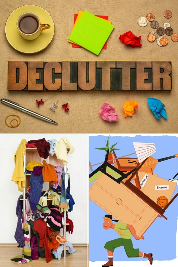 Getting On The Act Of Decluttering