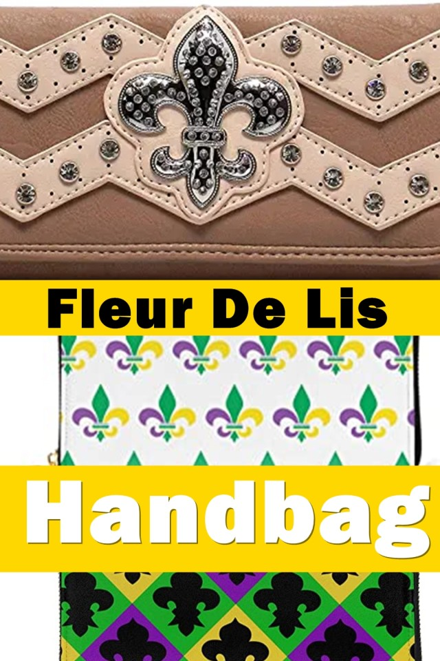 The Addition Of One Simple Accessory, Like A Fleur De Lis Handbag, Is A Fast And Easy Way To Add Your Own Personal Touch To Your Look .