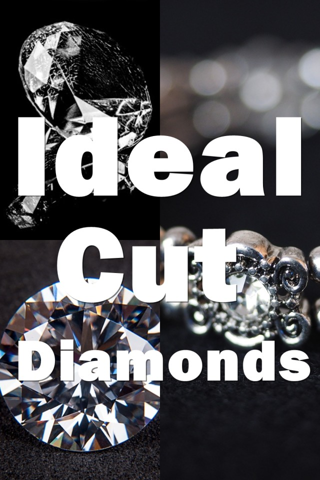 An Ideal Cut Diamond Means That The Diamond Has Been Cut To A Specific Set Of Parameters Required To Produce The Highest Light Performance Possible.