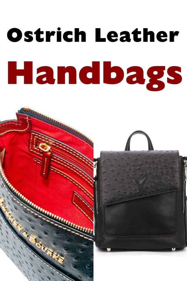 If You Are Looking For A Truly Luxury Handbag, One Of The Most Exclusive Leathers Of All Is Ostrich Leather. Soft And Luxurious It Is Also A Tough Leather That Keeps Its Good Looks For Many Years And Its Elegantly Patterned Texture, Spotted With The Characteristic Quill Follicle Polka Dots, Is The Epitome Of Restrained Chic.