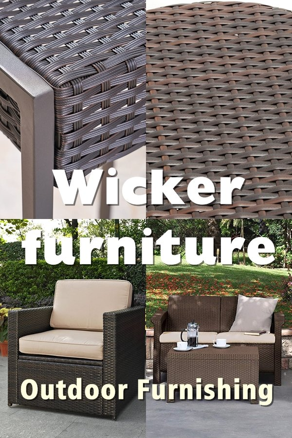 Wicker Is A Popular Type Of Outdoor Furniture Built From Interwoven Pattern Of Wicker Stripes. Wicker Furniture, Which Is Usually Hand-made, Is Made From Canes That Come From Willow Trees.