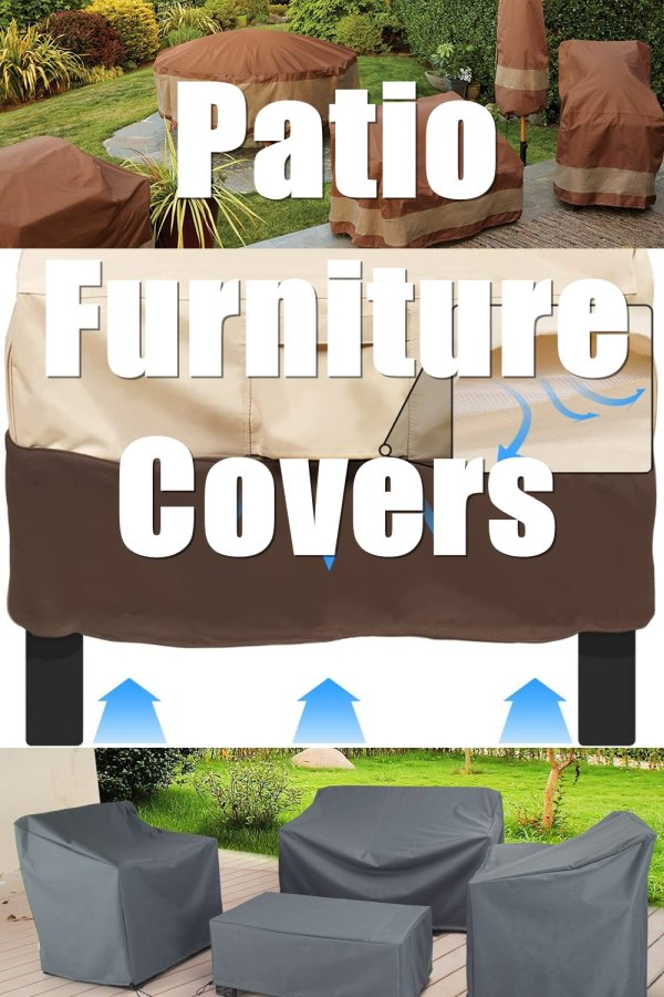 If You Live In A Cold Climate, You Should Consider Outdoor Patio Furniture Covers.