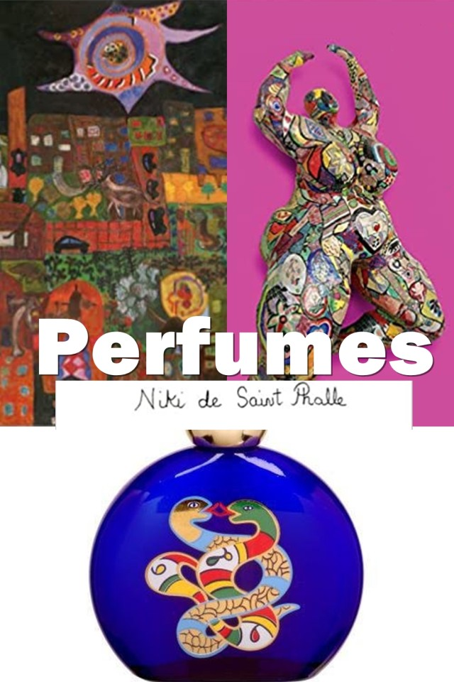 If Fragrances Would Be Associated To The Personalities Of Their Designers, Niki De Saint Phalle Perfumes Would Be Independent, Resistant And At The Same Time Eccentric