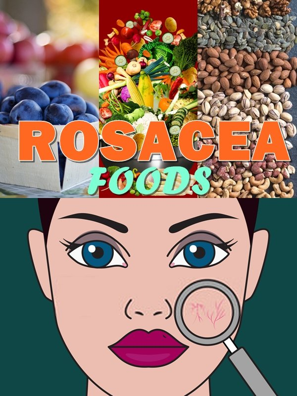 There are foods to eat for rosacea that will not only help you to clear the redness and skin eruptions of rosacea, but they also have anti aging benefits and will help to reduce aches and pains in your joints!