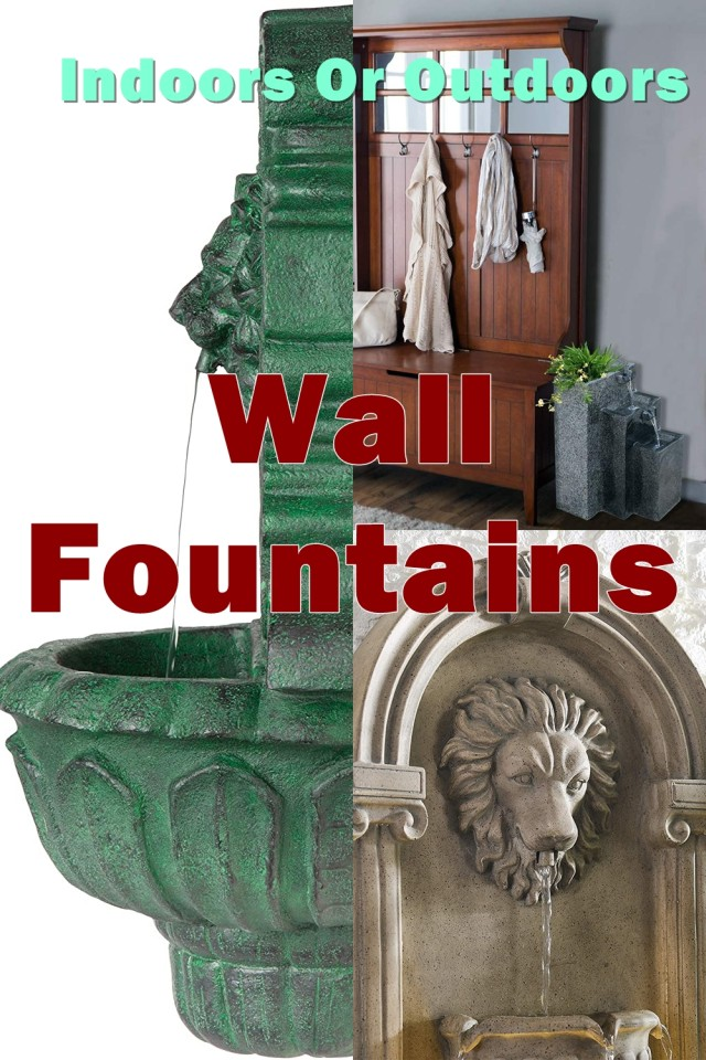 A Popular Choice For Wall Fountains Is Cast Stone Wall Fountains, Primarily Because They Add A Great Deal Of Beauty Associated With Artistic Sculpture