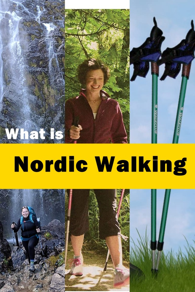 Using Poles During A Fitness Walk Is Known As Nordic Walking And Those Who Do It Regularly Have Cited Less Tension In Their Neck And Shoulders As A Result.