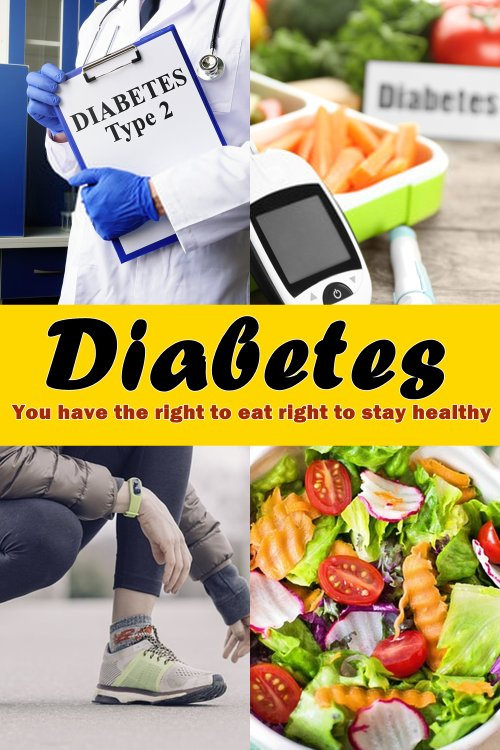 One of the first things after being diagnosed with diabetes, whether it be type l or type ll is going to be the change in your diet that is required.