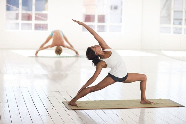 Yoga practice helps the body to build strength slowly, but safely. Research has shown that stronger muscles stronger muscles reduce the aging process while increasing bone density.