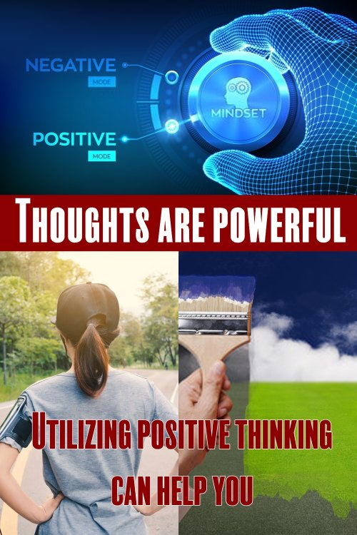 It's Hard To Still Your Mind And Put A Stop To The Endless Stream Of Chatter And To Think Purely In A Positive Way But There Is A Lot That Can Be Done To Control Them In Time. Utilizing A Positive Thinking Meditation Or Making Use Of Positive Affirmations Can Help You To Re-gain Control.