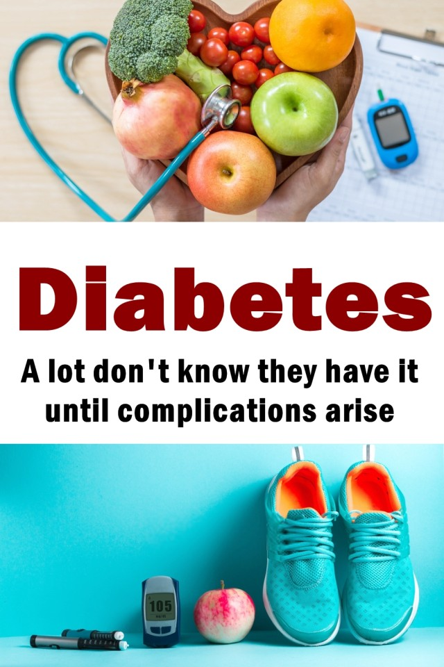 Diabetes Is A Very Serious Disease. A Lot Don't Know They Have It Until Complications Arise.